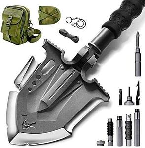 lightweight camping shovel