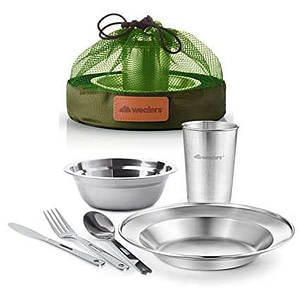 mess kit for camping