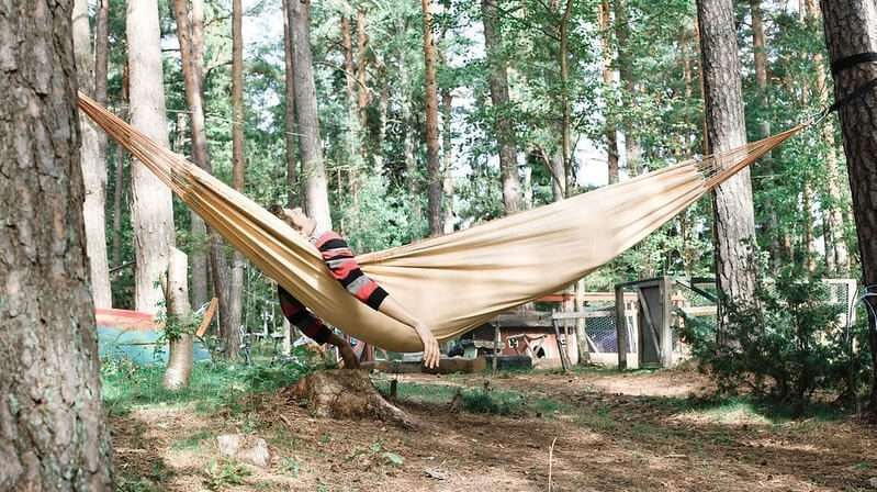 portable folding hammock
